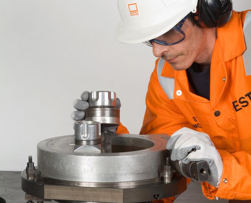 F8 on site machining