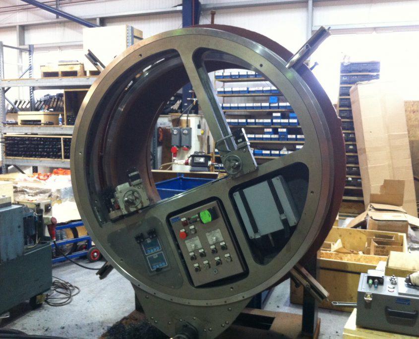 F50 on site machining